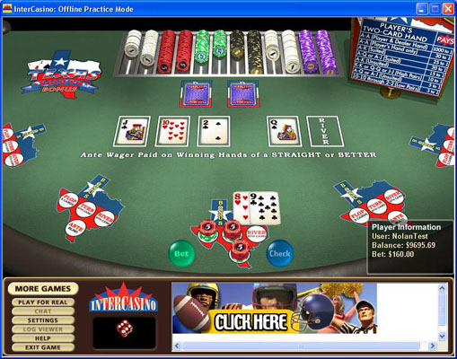 casino texas holdem bonus poker