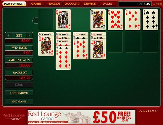 Casino Solitaire Beating Bonuses
